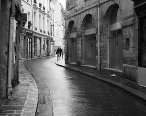 Paris Rainy Street
