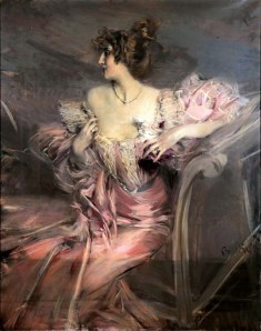 Marthe de Florian as painted by Giovanni Boldini