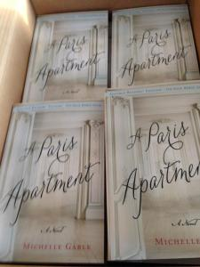 Advance Copies of A Paris Apartment!